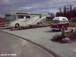 Grote en kleine camper