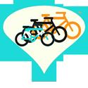 Onze fietsen op reis